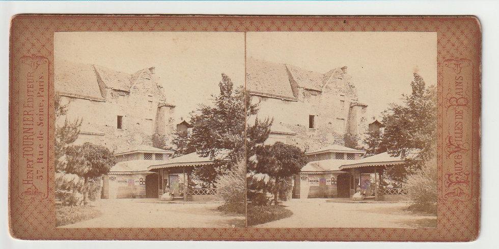 Vichy - Eaux, villes de bains - Stereoview - Henry Tournier 1870s
