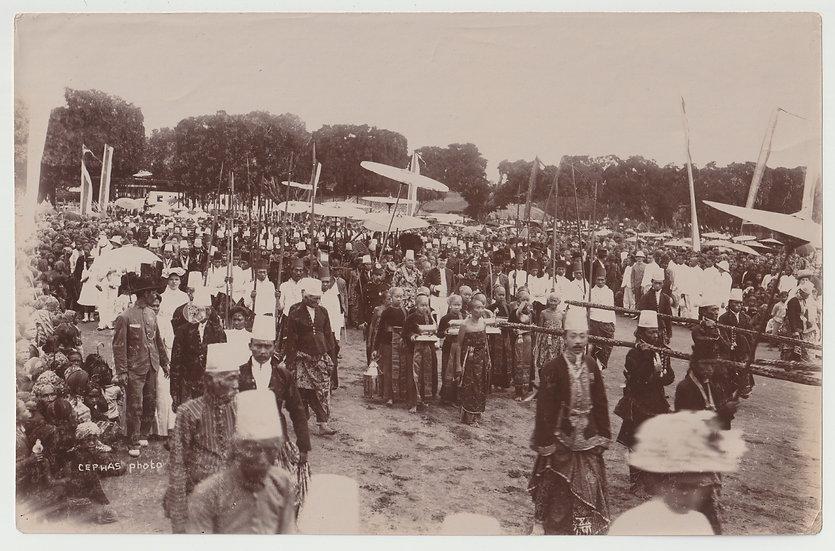 Kassian Cephas - Procession at Java c. 1885