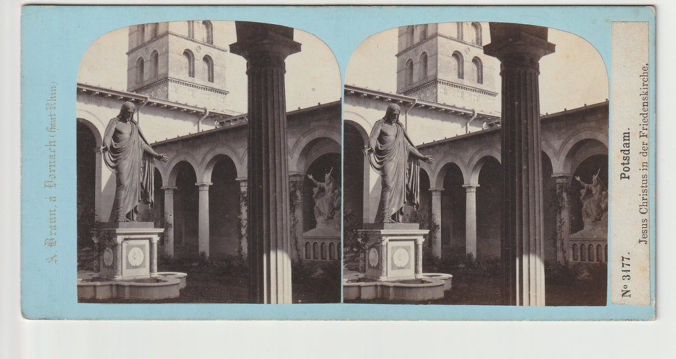 Stereoview of Potsdam, Germany by Adolphe Braun. c1865/70