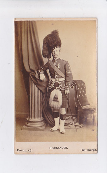 Large collection of 103 CDV's of Scotland - a.o. G.W.W. Wilson and J. Valentine
