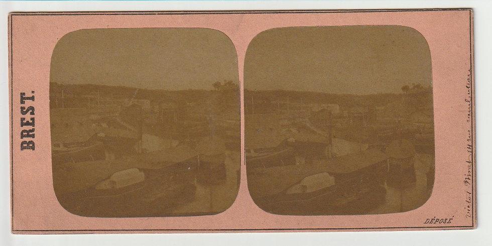 Brest - Victor Ninet -Stereoview c. 1858