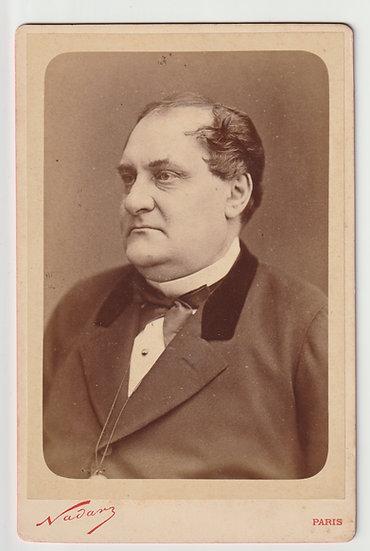 Portrait of Napoléon-Jérôme Bonaparte, Nadar, c. 1885