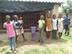 CHICKEN HSE -  FRONT View with children.jpg