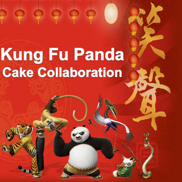 Kung Fu Panda - Cake Collaboration