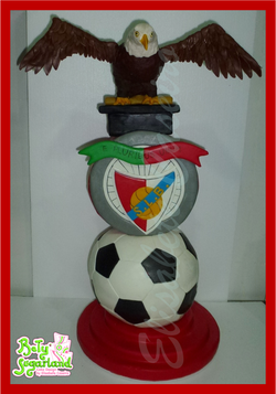 Benfica tower cake