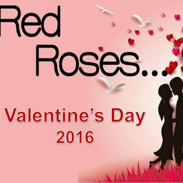 Red Roses - Valentine's Day 2016