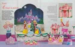 ff cake design 21- natal princesas 1