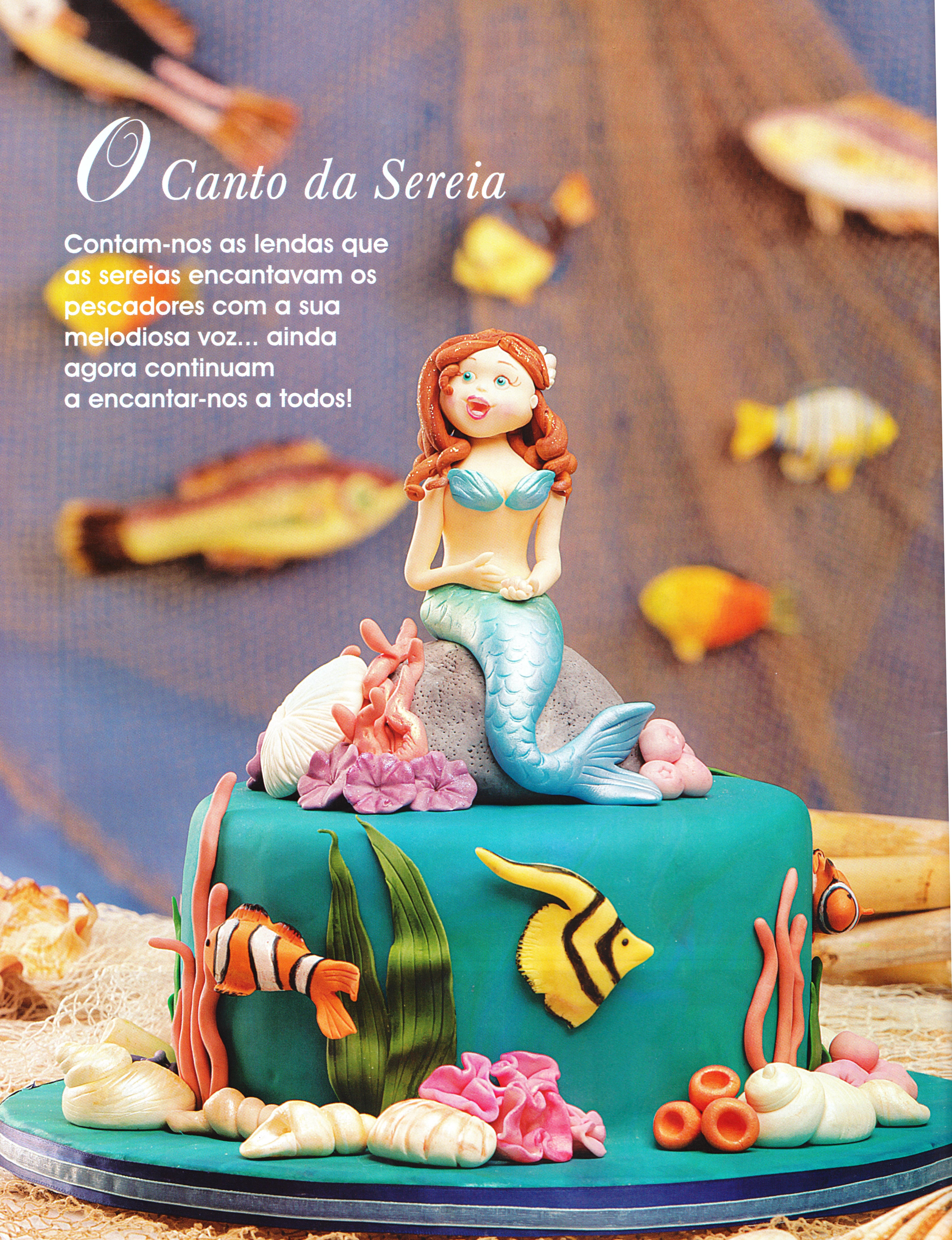 ff cake design 5 sereia