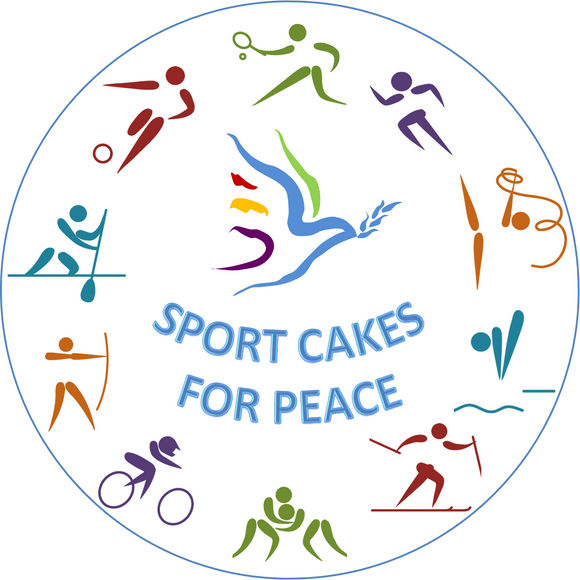 Sport Cakes for Peace