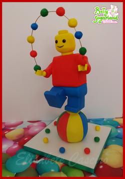 Lego man e as Bolas
