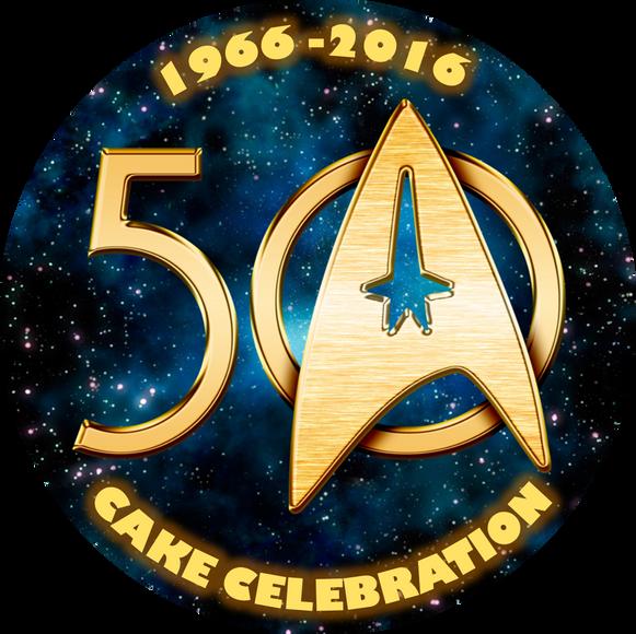 Star Trek 50 - Cake Celebration