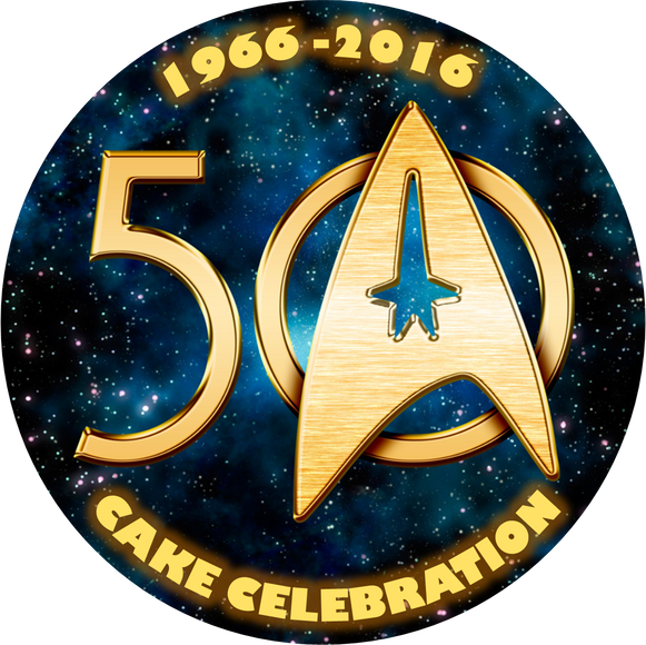 Star Trek 50 - Cake Celebration