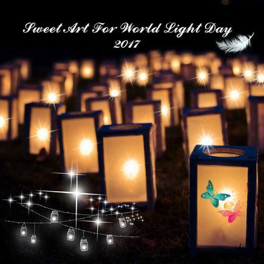 Sweet Art for World Light Day 2017