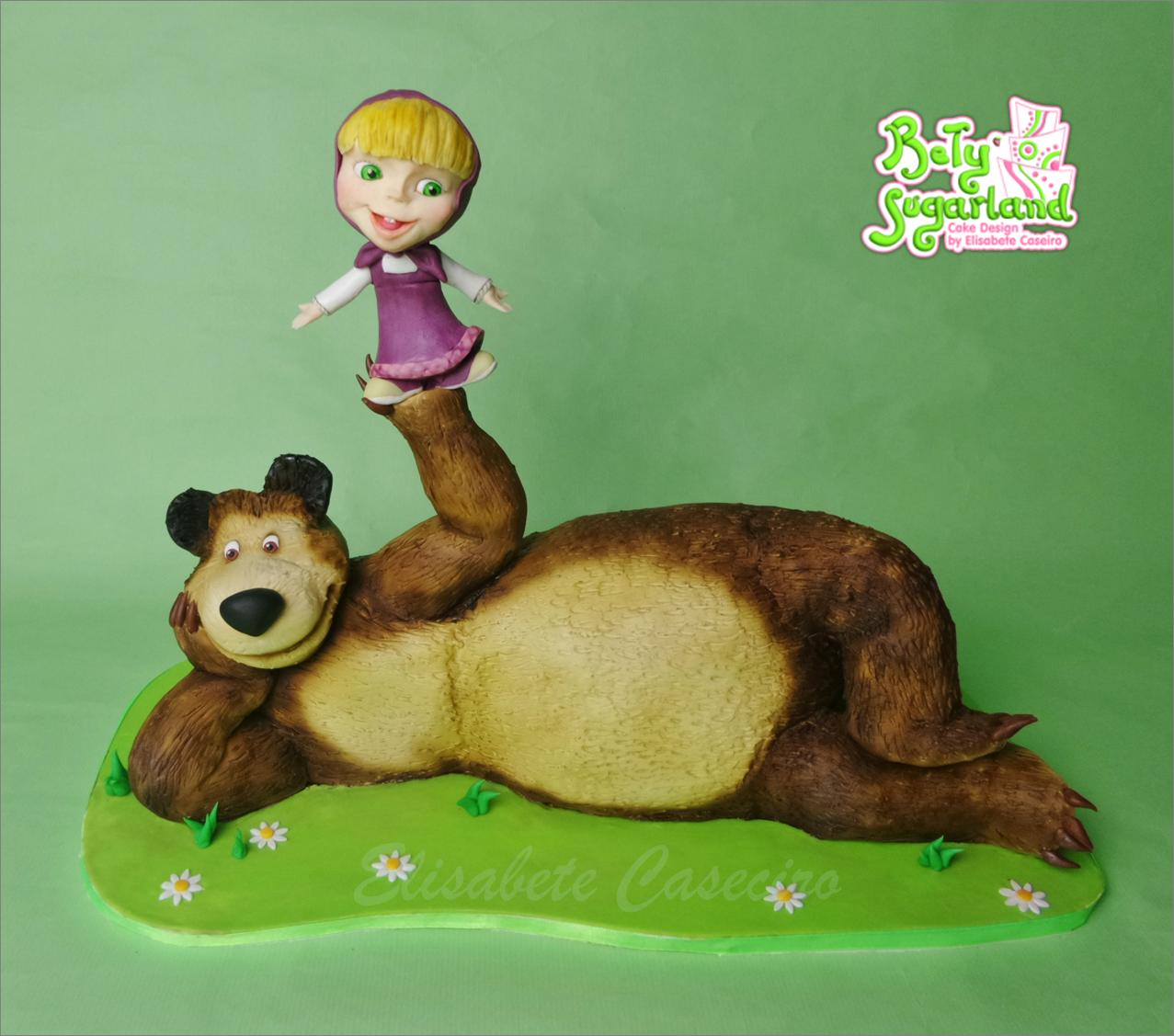 Bolo Masha e o Urso