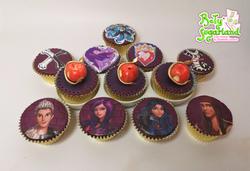 Descendants cupcakes