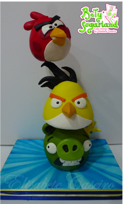 angry birds tower