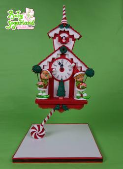 Relógio de Cuco de Natal