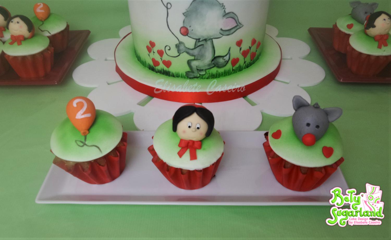Cupcakes Capuchinho Vermelho