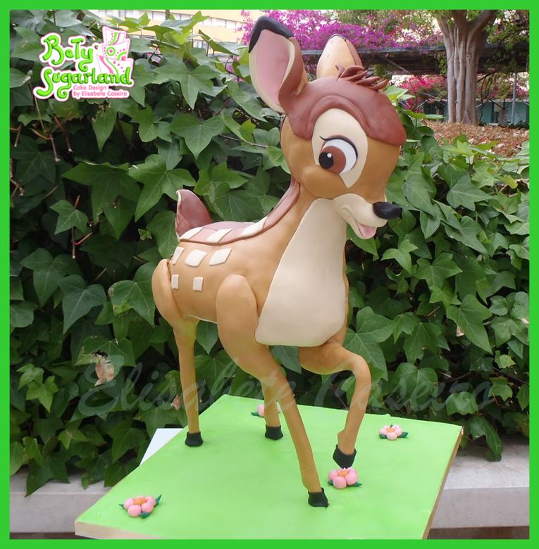 Bambi cake 1