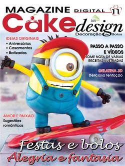 ff cake design digital 11 Minion