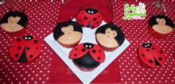 Cupcakes Joaninhas