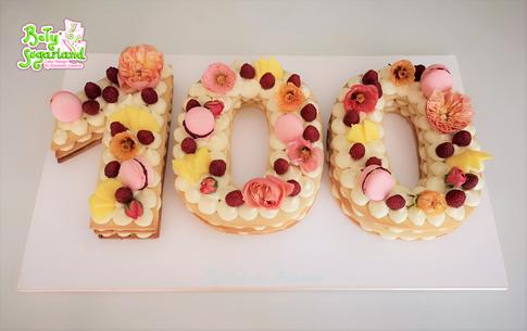 Cream Tart 100