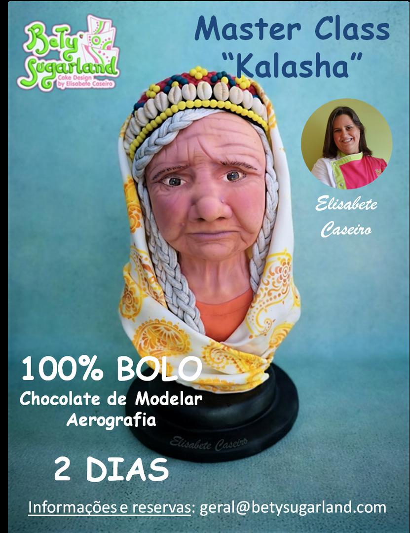 "Master Class ""Kalasha"" - Busto Realista"