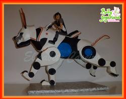 Bolo Slugterra - Cão Mecanico