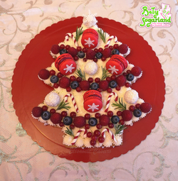 Cream Tart Árvore de Natal