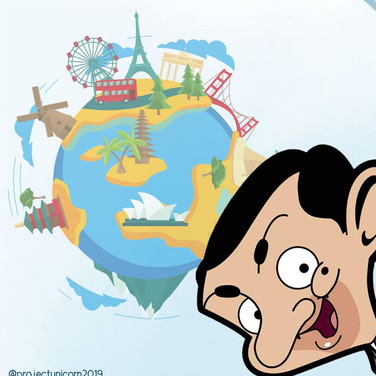 Mr. Bean Travels Around the World