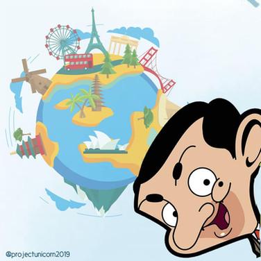 Mr. Bean Travels Around the World