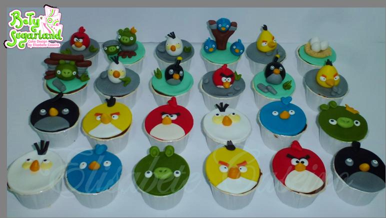 Cupcakes AngryBirds