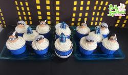 PJ Masks cupcakes creme