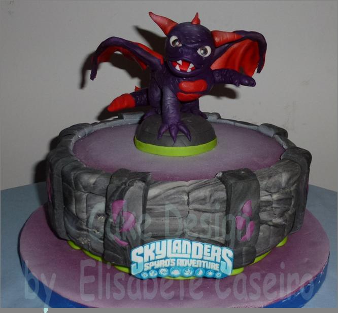 Bolo Skylanders - Spyro
