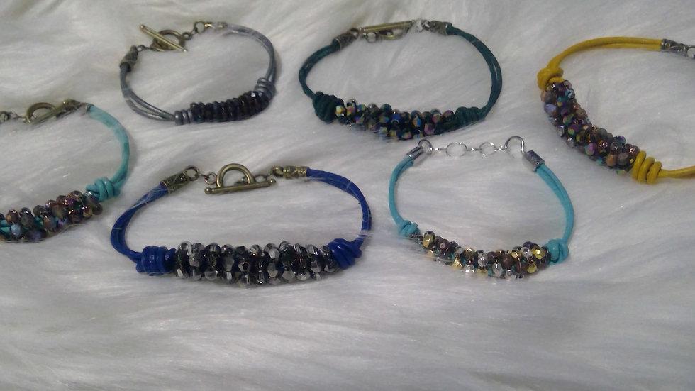 Lovely Leather Bracelets