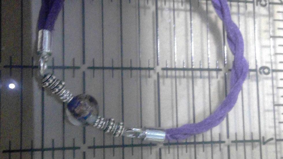 Braided Suede - Purple