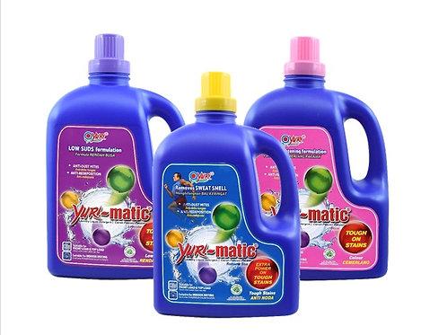 Yuri-Matic Anti Bacterial Liquid Laundry Detergent 2.8Kg