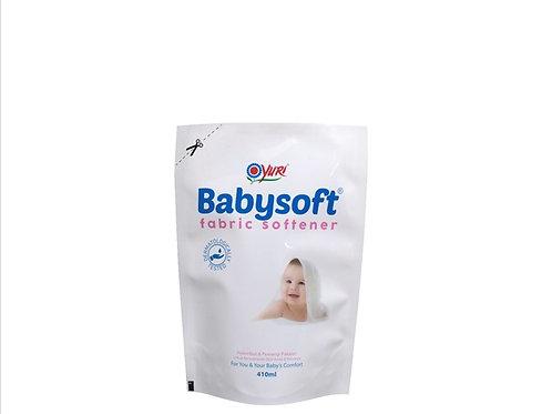 Yuri Baby Soft Fabric Softener 410ml Refil