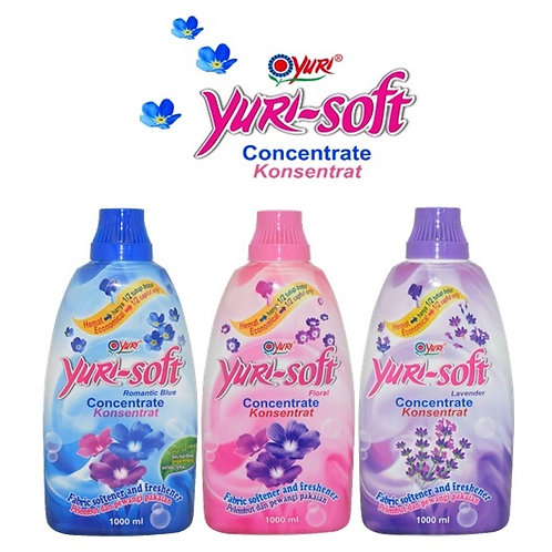 Yuri Soft Concentrate Fabric Softener 1L variants
