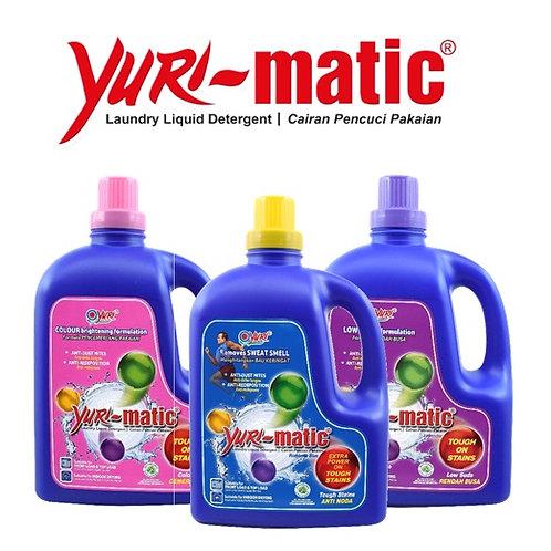 Yuri Matic Anti Bacterial Liquid Laundry Detergent 2.8Kg Variants