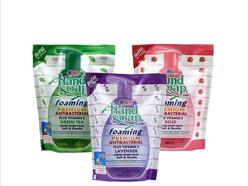 Yuri Foaming Antibacterial Hand Soap Refill 375ml