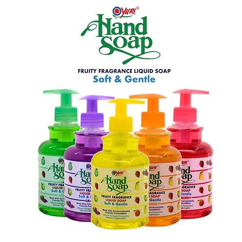 Yuri Fruity Hand Soap 410ml Various