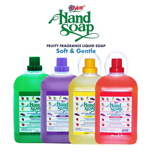 Yuri Hand Soap Soft and Gentle 3.7L variants