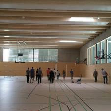 Neue Turnhalle für die ASR