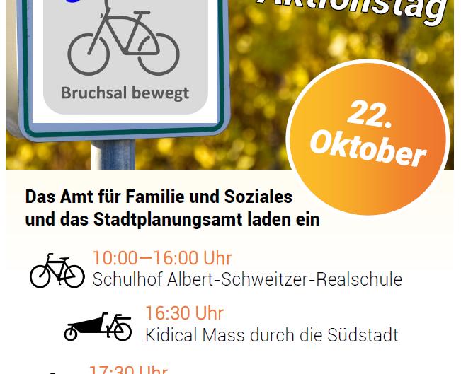 Fahrrad-Aktionstag an der ASR