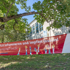 #ÄrmelHoch - Impfen hilft - Impfaktion der Stadt Bruchsal an der Albert-Schweitzer-Realschule
