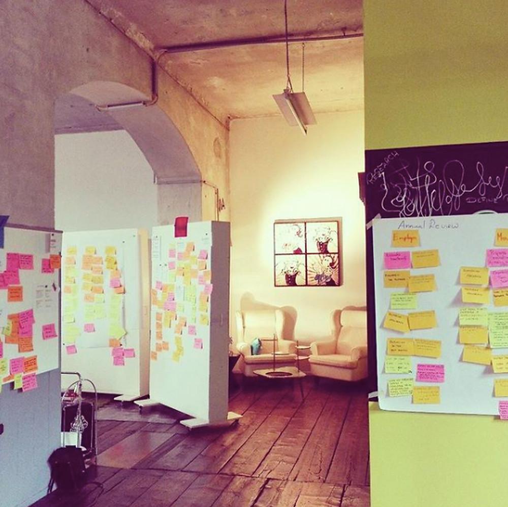 Design Thinking Workshop im Coworking Loft