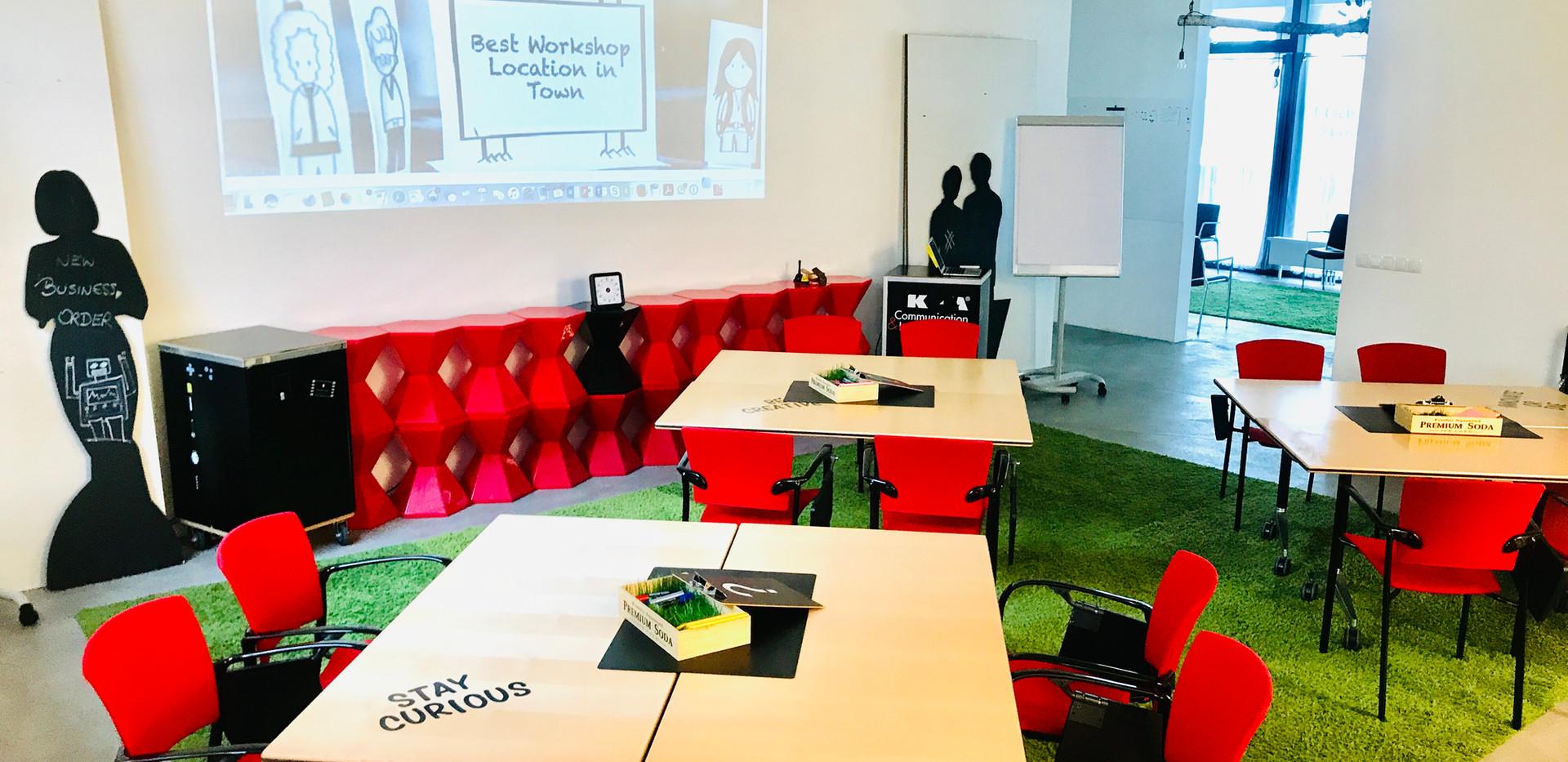 Flexible Workshop Setting