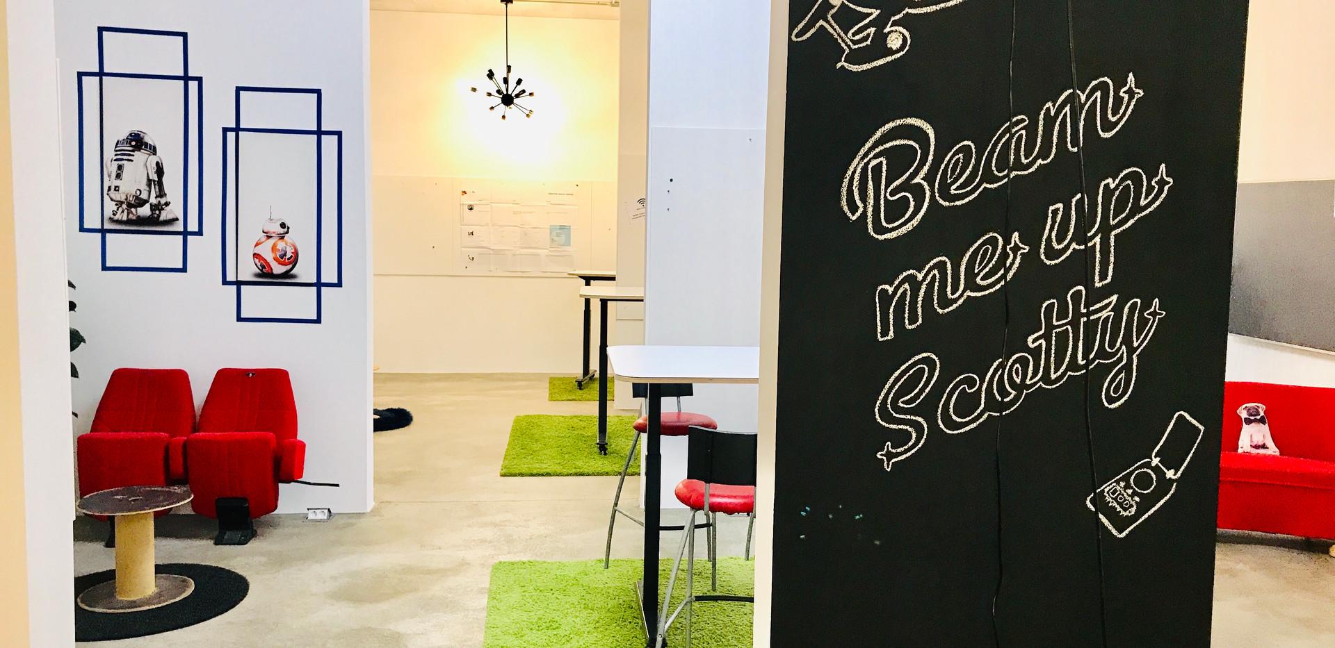 Beaming Area @Coworkingloft