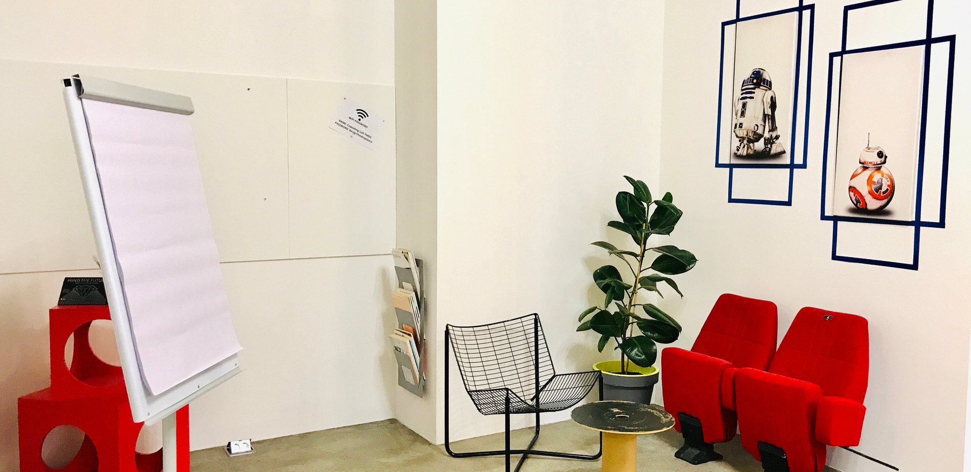 Take a seat @Coworkingloft